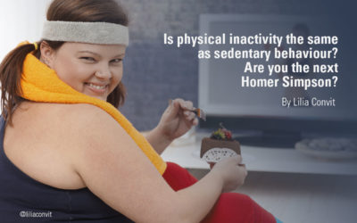 Is physical inactivity the same as sedentary behaviour? Are you the next Homer Simpson?