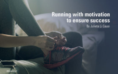 Running with motivation to ensure success